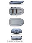 Надувная лодка ПВХ ФЛАГМАН 300NТ