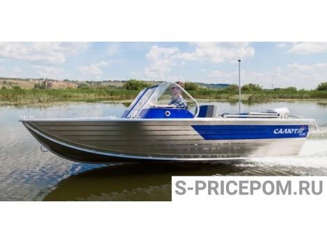 Алюминиевая лодка Салют 430 Scout