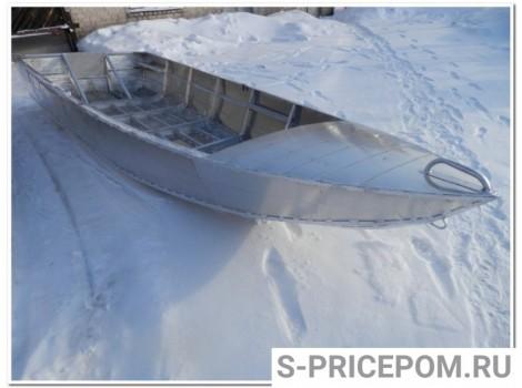 Алюминиевая лодка Вятка-Профи Шило под водомет