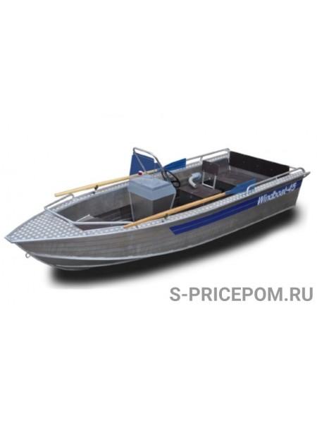 Алюминиевая лодка WINDBOAT-45C
