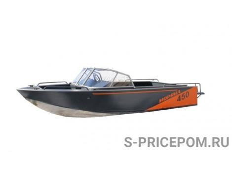 Алюминиевая лодка Моряна 450