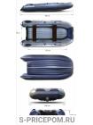 Надувная лодка ПВХ ФЛАГМАН 400U
