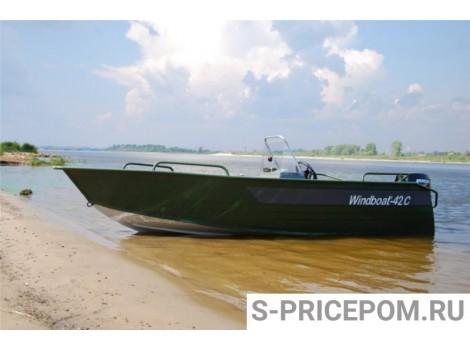 Алюминиевая лодка WINDBOAT-42CM