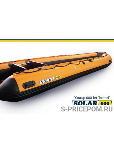 Надувная лодка Solar-600 tunnel JET