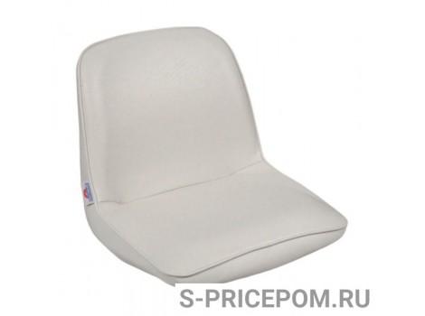 Кресло FIRST MATE мягкое, материал белый винил