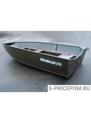 Алюминиевая лодка WINDBOAT-29M