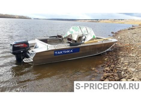 Алюминиевая лодка Тактика 470 DC
