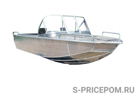 Алюминиевый катер Вятка-Профи AlBoat 500