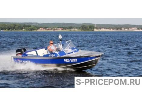 Алюминиевая лодка Салют-525