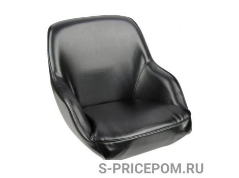 Кресло ADMIRAL мягкое, материал черный винил