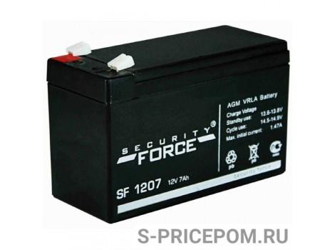 Аккумулятор 12В 7,0 AH (SF1207)