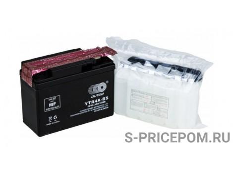 Аккумулятор свинцово-кислотный сухой YTR4A-BS, Outdo