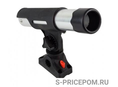 Подставка под удочку черная/серебрянная в комплекте с креплением CFMT303-3