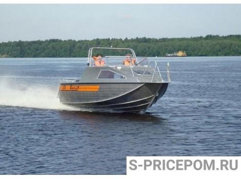 Алюминиевая лодка Wellboat-55Jet