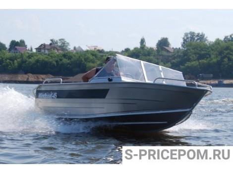 Алюминиевая лодка  WINDBOAT 45MPro