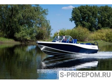 Алюминиевая лодка Салют NAVIGATOR 525