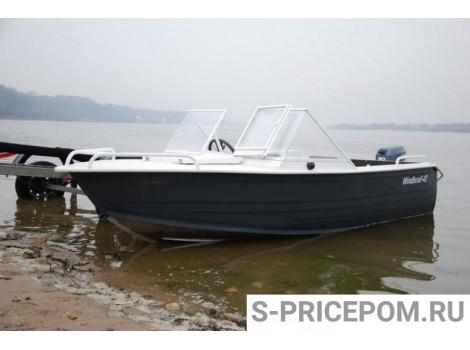 Алюминиевая лодка WINDBOAT-42M Pro