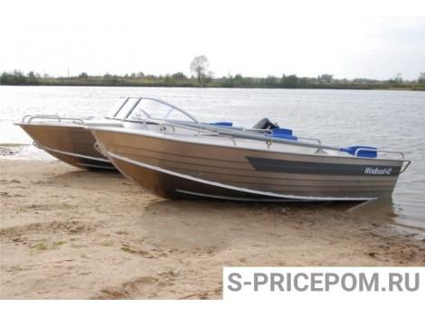 Алюминиевая лодка WINDBOAT-42