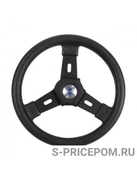 Рулевое колесо ELBA обод и спицы черные д. 320 мм