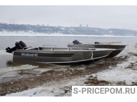 Алюминиевая лодка WINDBOAT-42M
