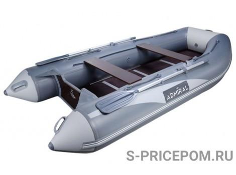Надувная лодка Адмирал 335 Серая