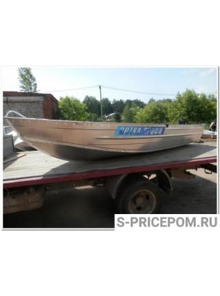 Алюминиевая лодка Вятка-Профи 38