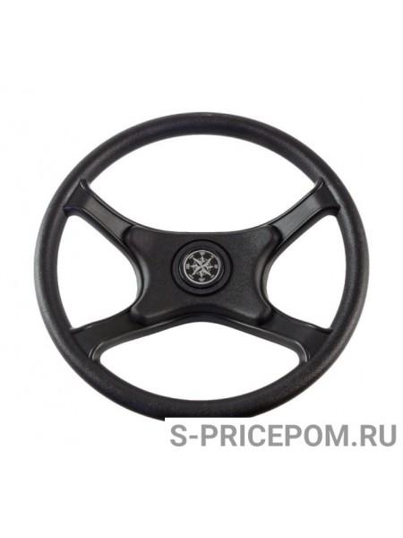 Рулевое колесо LAGUNA черный обод и спицы д. 335 мм