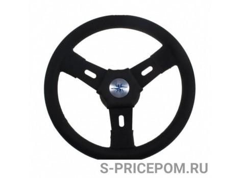 Рулевое колесо ELBA обод и спицы черные д. 300 мм
