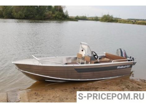 Алюминиевая лодка WINDBOAT-42C