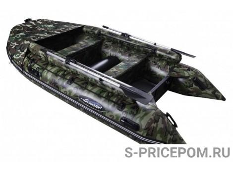 Надувная лодка ПВХ Gladiator Professional D400AL FB