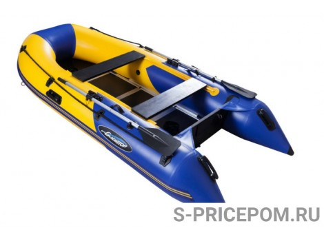 Надувная лодка ПВХ Gladiator Light B300DP