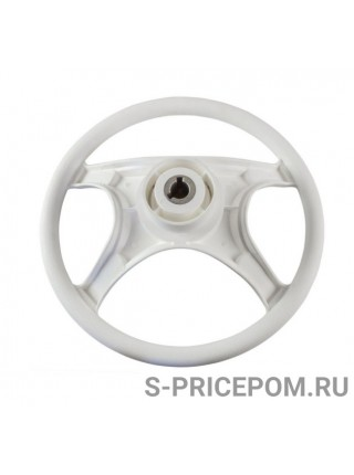 Рулевое колесо LAGUNA белый обод и спицы д. 335 мм