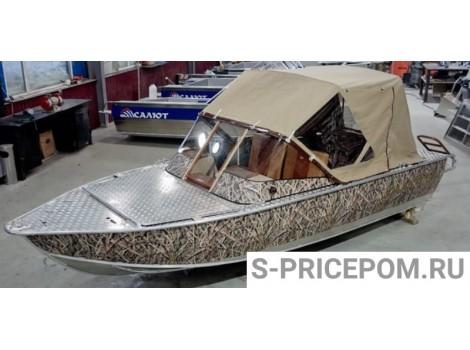Алюминиевая лодка Салют-480М Hunter