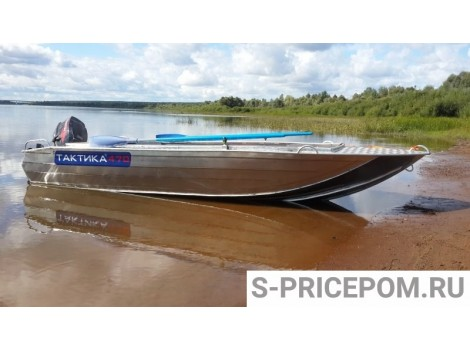 Алюминиевая лодка Тактика 470 ФИШ (FISH)