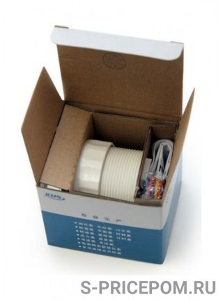 Трим-указатель 190-0 Ом, белый циферблат, нержавеющий ободок, д. 52 мм