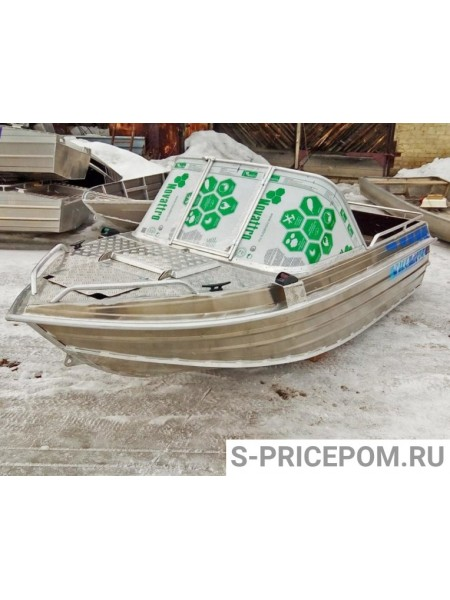 Алюминиевая лодка Вятка-Профи 47