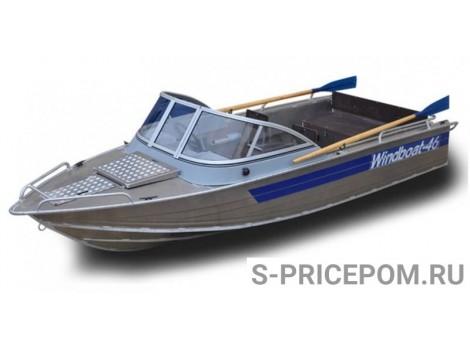 Алюминиевая лодка WINDBOAT-46