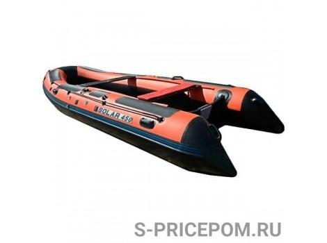 Надувная лодка ПВХ Solar-450 tunnel JET