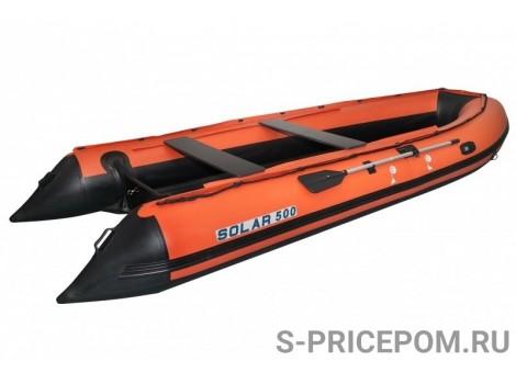 Надувная лодка ПВХ Solar-500 JET