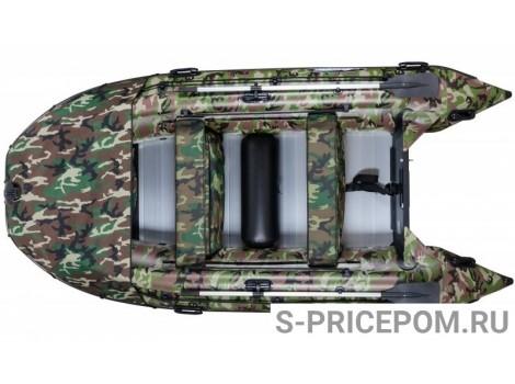 Надувная лодка ПВХ Gladiator Professional D470AL FB
