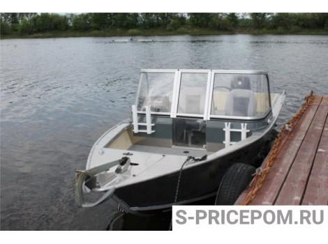 Алюминиевая лодка WINDBOAT-45DCX