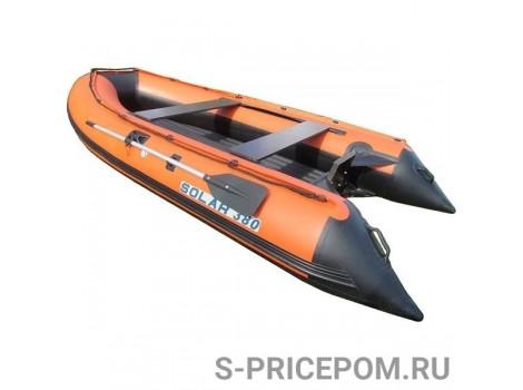 Надувная лодка ПВХ Solar-380 tunnel JET