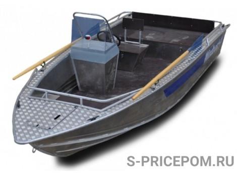 Алюминиевая лодка WINDBOAT-46C