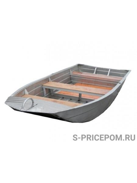 Алюминиевая лодка Вятка-Профи 37-Т