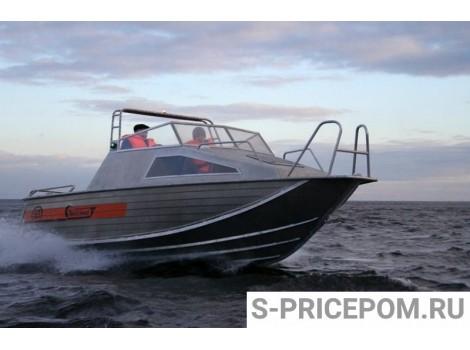 Алюминиевая лодка Wellboat-63Р