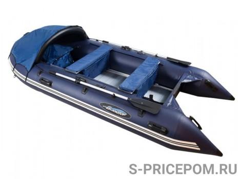 Надувная лодка ПВХ Gladiator Professional D 450AL