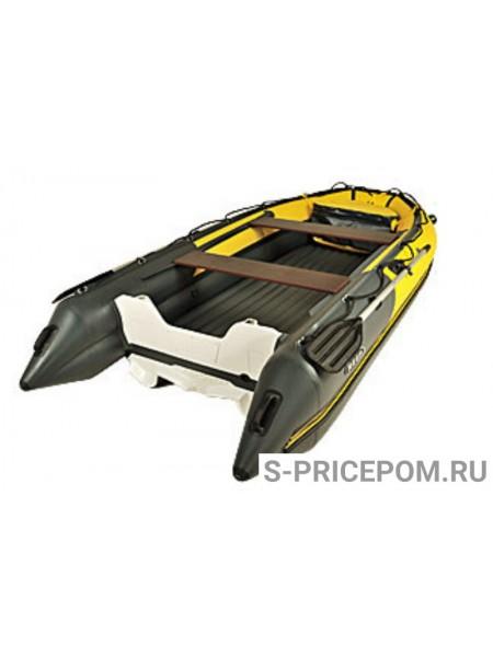 ЛОДКА НАДУВНАЯ REEF SKAT ТРИТОН 370 S НД  пластиковый транец