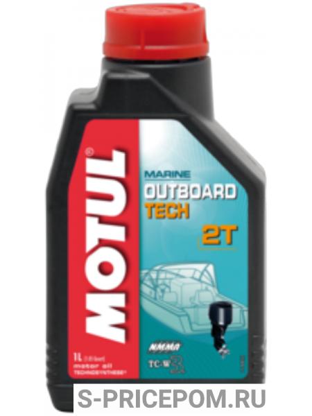 MOTUL OUTBOARD TECH 2T (полусинтетика)
