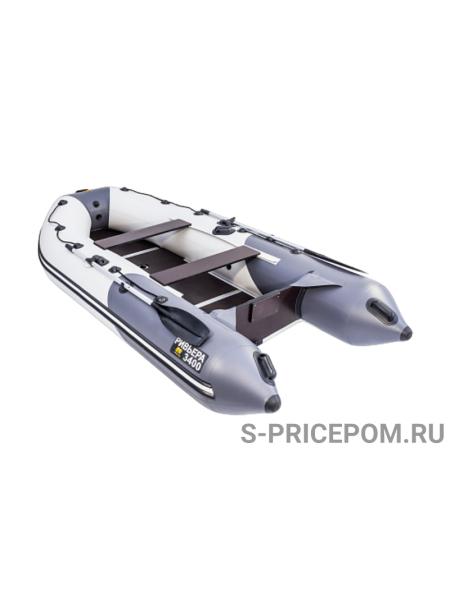 Надувная Лодка ПВХ Мастер Лодок Ривьера 3400 СК Компакт