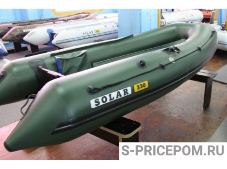 Надувная лодка ПВХ Solar Оптима-350